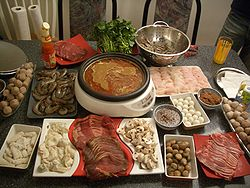 Steamboat - Pic of Chinese steamboat meal