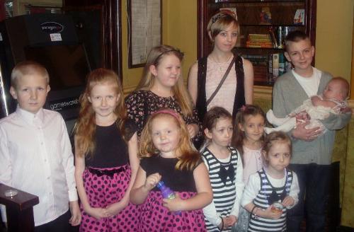 My ten grandchildren - All my grandchildren together at last!