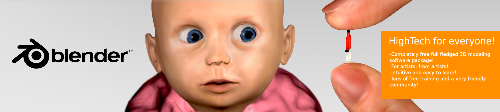 amazed baby (WIP) - done entirely in blender. I spent the last three days on it. Although this is an add, I'm not trying to advertise blender here, I just wanna get some neutral comments from artists that haven't studied 3D yet. Comments and questions are highly appreciated. Thank you for viewing !