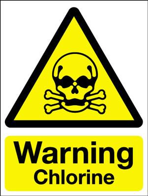 Chlorine Warning - warning pool chlorine