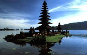 The Bali Temple - One of the famous tourist spot in Bali Island.