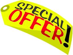 Special offer - What would you do with a special offer?