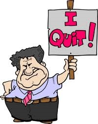 I quite - Do you every quit your job or are you planned to quit your job?