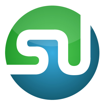logo of stumbleupon - This logo is unique for stumble site only