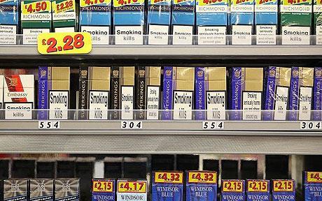 smoking - selling cigrettes