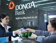 Bank - Dong A Bank with staffs
