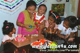Birthday Special - In this photo many children around the birthday baby and wish him a lot.......