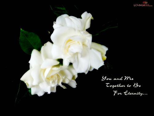 For Eternity - Love forever.