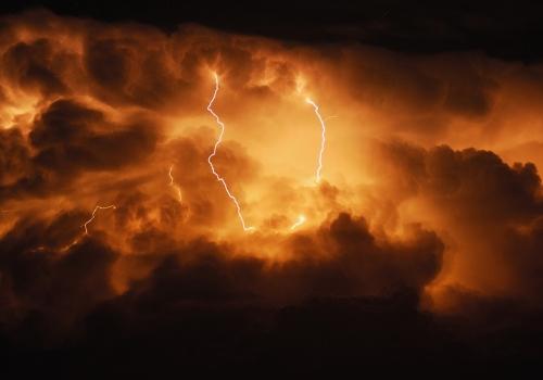 s - storm in the sky