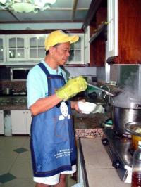 bro eli - our beloved good preacher also a chef good cooker!:)...