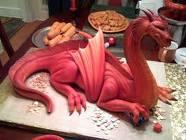 cakes - dragon cake