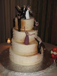cakes - cool wedding cake