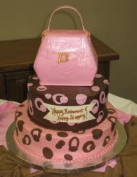 cakes - pink birthday cake