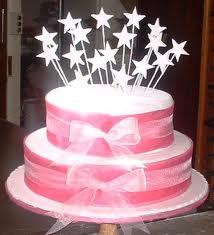 cakes - stars inspired cake