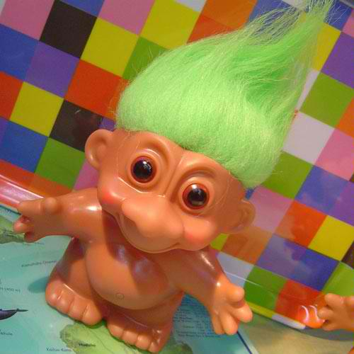 troll - this the troll toy
