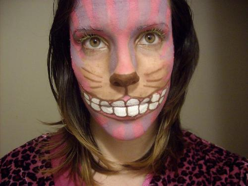 makeup - my original cheshire cat makeup :) let me know what you think.
