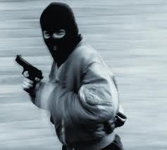 A robber - A destitute life can create a robber