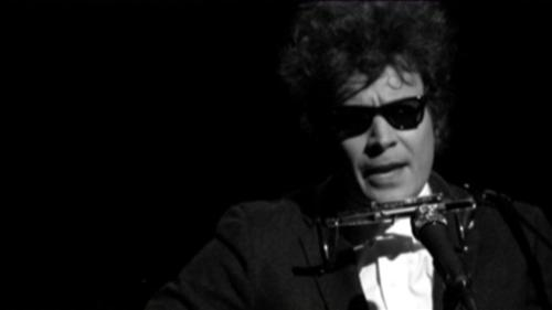 Fallon on Dylan - Jimmy Fallon impersonating Bob Dylan on Late Night w/ Jimmy Fallon.