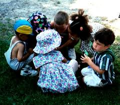 group of kids - playing