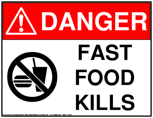fast food does more harm than good