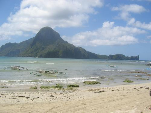 Island - This small island is located in El Nido Palawan Philippines. I haven't got a chance to get the name of it. You can reach that island when you avail an island hopping tour arrange by a local organizer.