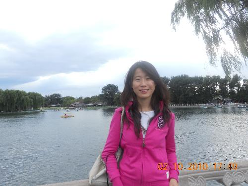 the year 2010 in houhai park - the first year i come to beijing