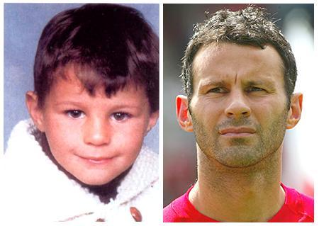giggs when he was child - this is ryan giggs when he was child and now become legend in man.united football club