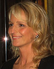 Helen Hunt - I remeber her most from 'Mad about You'.