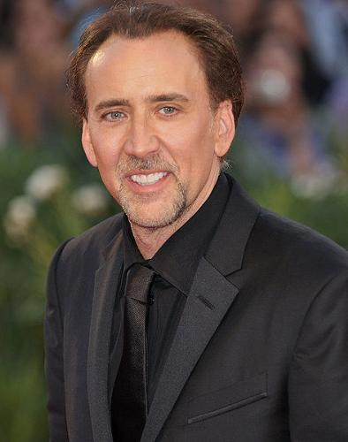 Nicholas Cage - I don't know what is going on with guy but he is in trouble with the law! Cage is a good actor but he is creepy looking! Mostly in the eyes!