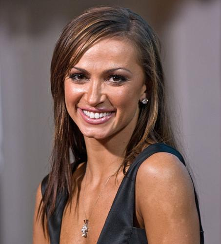 Karina Smirnoff - One of the the dancers from 'Dancing with the Stars'. She is the current issue of Playboy. Saw the cover and she loooks great! She is really beautiful!