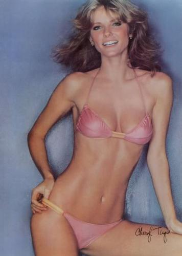 Cheryl Tiegs - This was her 1978 poster! I am sure she sold alot of those!