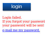 New Password Failed - Damn Error...i don't want to delete my account just for this!