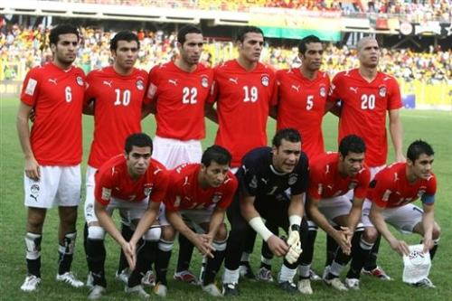 sports - Egyptian national team who won seven Champions League African Nations
