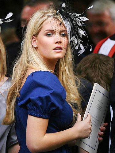 Kitty Spencer - Kitty Spencer is a daughter of Charles Spencer. Charles Spencer is Princess Diana's brother.