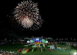 opening ceremony of icc world cup - a gala opening