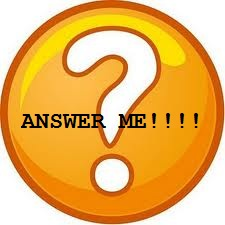 Just answer me - No question can be that hard to answer