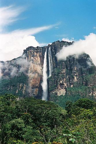 angel falls - angel falls tallest waterfalls