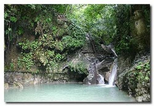 Damajagua Falls - beautiful Damajagua Falls