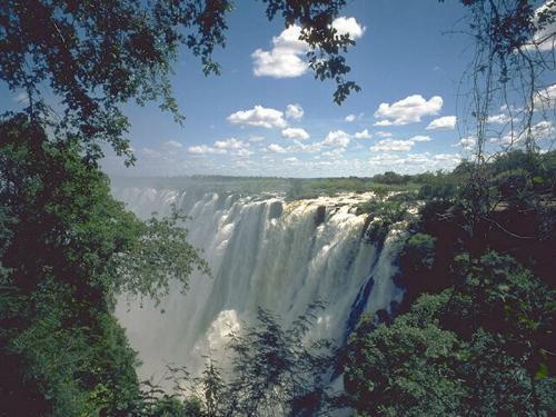 waterfall - sky charming-waterfall