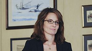 Tina Fey - Tina Fey. actress,writer,author,wife and mother! She does it all!