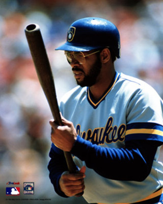Cecil Cooper - Cecil Cooper was with he Milwaukee Brewers in the 1980's. Cooper was also the Houston Astros manager for a few years not long ago.