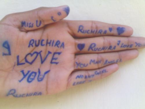 My Love - I LOve Ruchira Soi will do anything for her