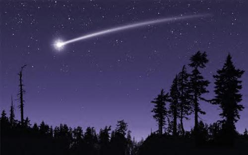 shooting stars - shooting stars fall from sky at night