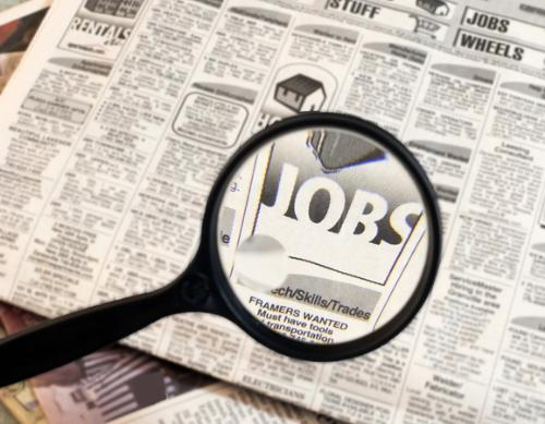 job searching - an image of job searching for this category