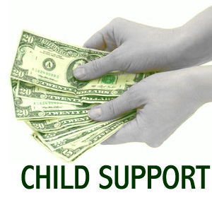 child support money - an image of child support money for this category