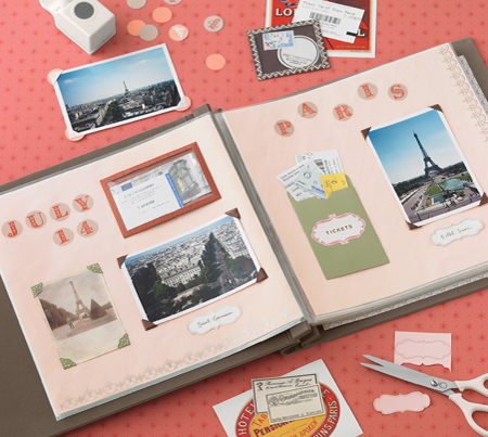 scrapbook - an image of a scrapbook for this category