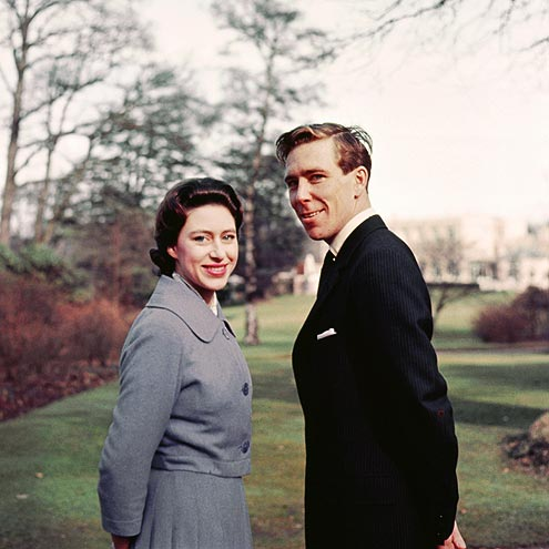 Princee Margaret - This was Princess Margaret's offical engagemant photo from 1960. She married Anthony Armstrong-Jones. Princess Margaret was Queen Elizabeth's sister.