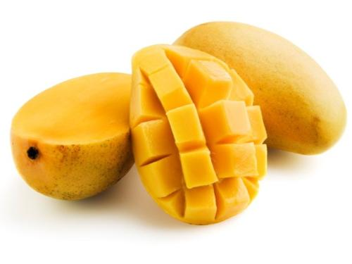 Mangoes at their beauty - Mangoes are sweetest of all fruits.