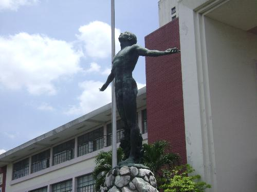 UP Oblation  - The iconic statue in UP Campus.