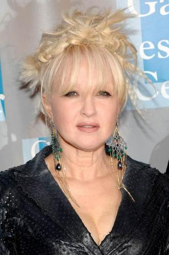 Cyndi Lauper - Talk about a bad hair day! Cyndi is having one here! Yikes!